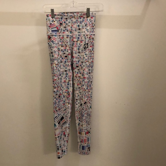 with Pants - With multi color Pelton legging sz s 72270 25""